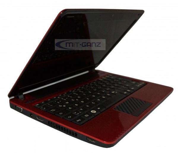 Fujitsu Lifebook PH530 i3 330UM/1.2 GHz/2GB/250GB/11.6 Zoll/rot/Top Zustand