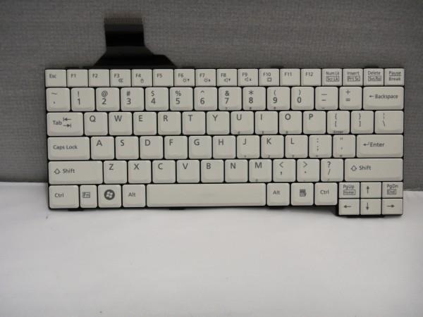 Fujitsu Lifebook E780 S710 T900 QWERTY Keyboard US CP297222-02 white V B #21