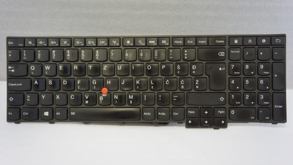 Lenovo Thinkpad QWERTZ Keyboard T560 P50s SL FRU 04Y2412 Backlight B #1.1