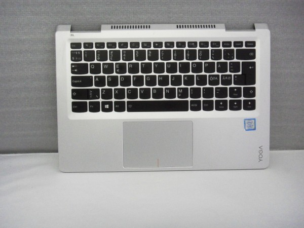 Lenovo QWERTY Keyboard YOGA 710 ND DK NO SE FI Backlight silver SN20K82203 V B %23