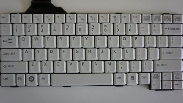Fujitsu Lifebook T730, T4410, T5010, T900 Keyboard US Layout CP297222-02 B-Ware