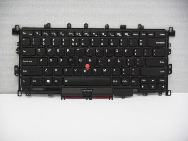 Lenovo QWERTY Keyboard ThinkPad X1 Yoga 1st Gen 20FQ 20FR US Backlight 00PA072 V B #12