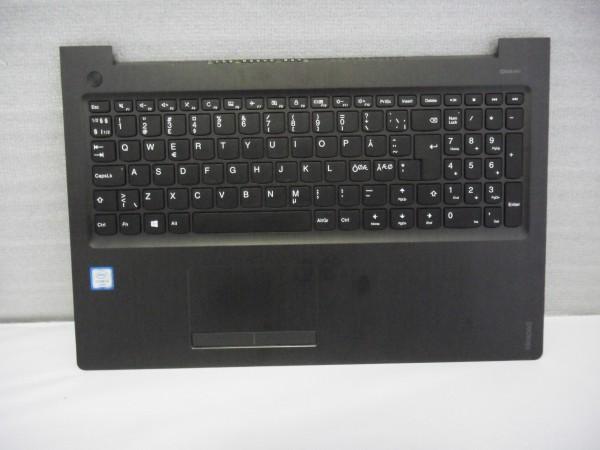Lenovo QWERTY Keyboard IdeaPad 310 ND DK NO SE FI black grey SN20K82480 V B %2