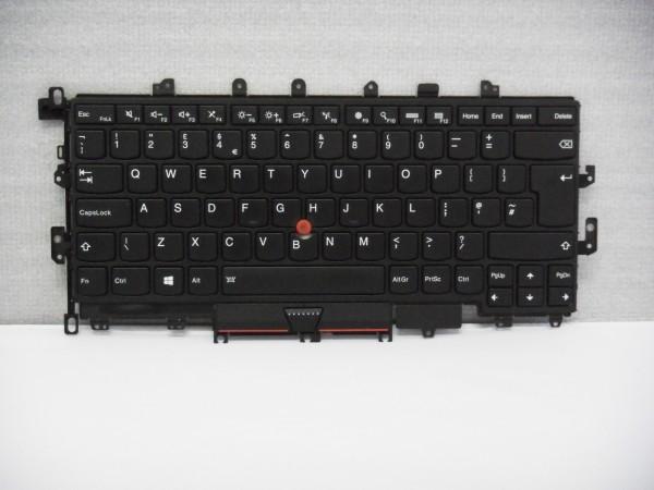 Lenovo ThinkPad QWERTY Keyboard 20FQ 20FR UK FRU00PA071 Backlight V B #12