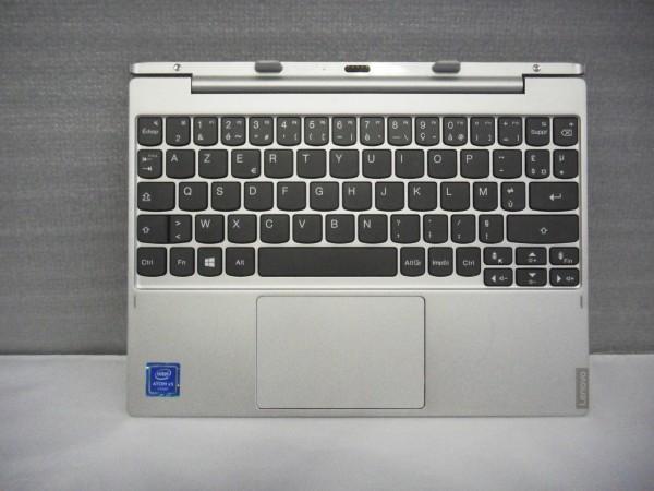Lenovo AZERTY Keyboard IdeaPad MIIX 320 10ICR FR silver 5N20P20528 V B %22