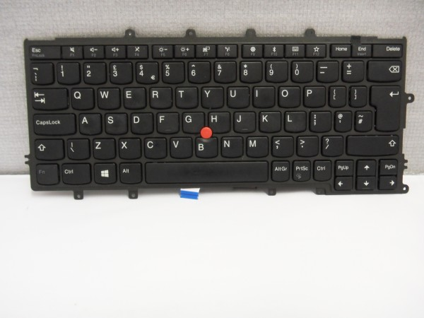 Lenovo QWERTY Keyboard X270 X260 X250 X240s X240 UK FRU01EN576 V B #3.3