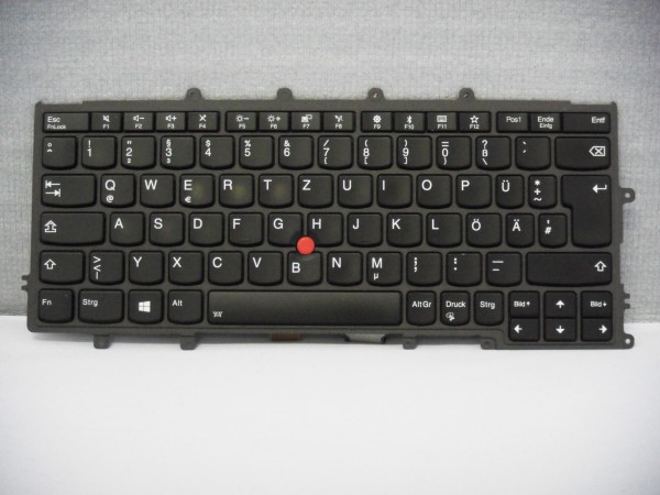 Lenovo QWERTZ KeyboardX240 X250 X260 X270 DE FRU01EN598 Backlight A #3.5
