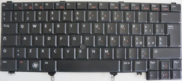 DELL Latitude E6220,E6420,E5420,E5430 Keyboard 09CVW6 Layout ITL A-Ware