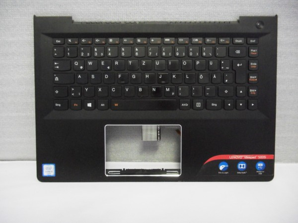 Lenovo QWERTZ Keyboard IdeaPad 500s DE Backlight black SN20G63003 V B %4