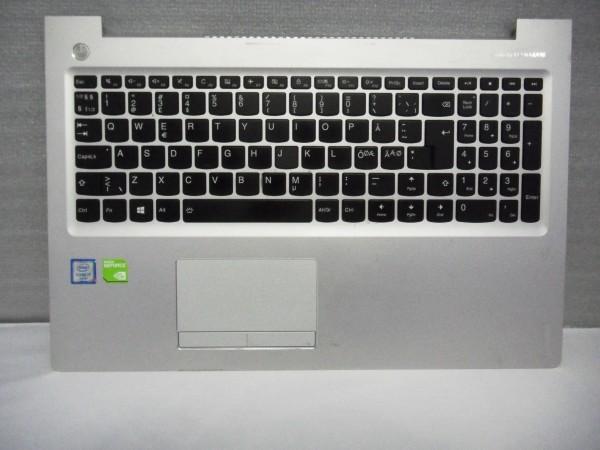 Lenovo QWERTZ IdeaPad 510 ND DK NO SE FI Backlight silver grey SN20K82616 V B %3