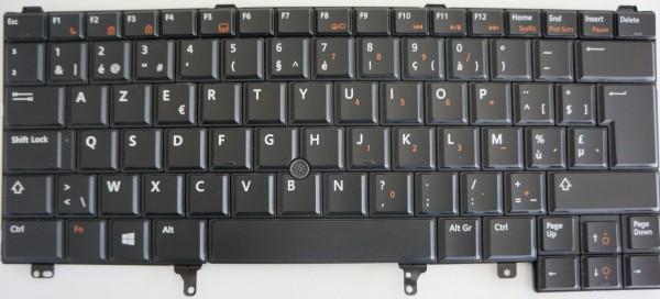 DELL Latitude E6220,E6420,E5420,E5430 Keyboard 0RF299 Layout BEL A-Ware