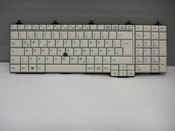 Fujitsu QWERTZ Keyboard Lifebook E751 E781 E782 E752 DE CP611401-01 V B #27