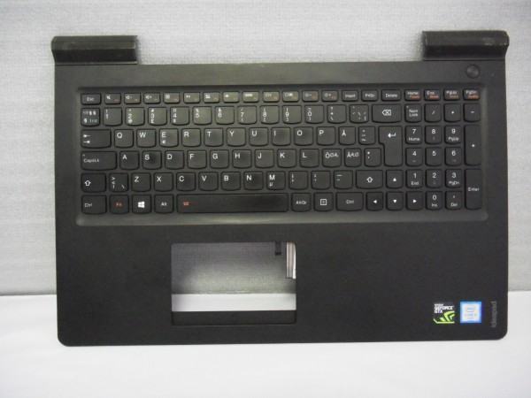 Lenovo QWERTY Keyboard IdeaPad 700 ND DK NO SE FI Backlight black SN20K28348 V B %9