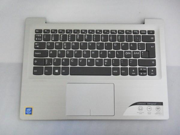 Lenovo QWERTY Keyboard IdeaPad 320s ND DK NO SE FI silver SN20M61934 V B %10