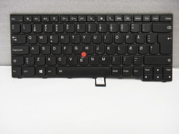 Lenovo QWERTY Keyboard ThinkPad T440 T431S T440 DK Backlight 00HW846 V B #4.5