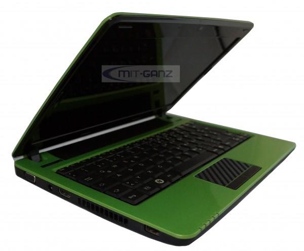 Fujitsu Lifebook PH530 i3 330UM/1.2 GHz/2GB/250GB/11.6 Zoll/grün/Top Zustand