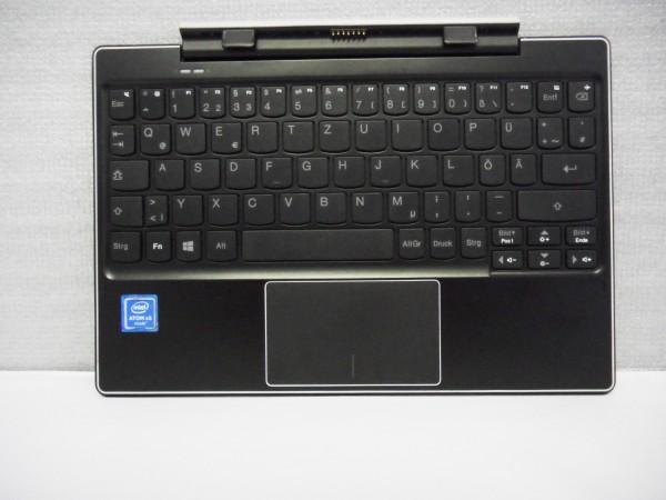 Lenovo QWERTZ Keyboard IdeaPad MIIX 310 10ICR DE black silver 5D20L64839 V B %25