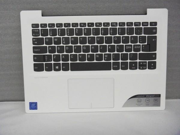 Lenovo QWERTY Keyboard IdeaPad 320s ND DK NO SE FI white SN20M61887 V B %10
