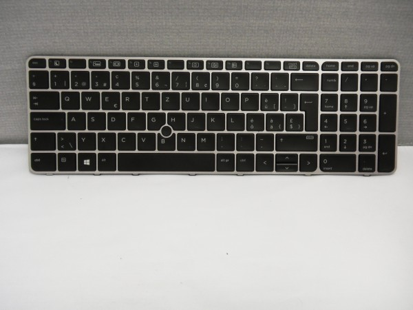 HP QWERTZ Keyboard EliteBook 850 G3 G4 755 G3 CH Backlight 6037B0113816 V B #25