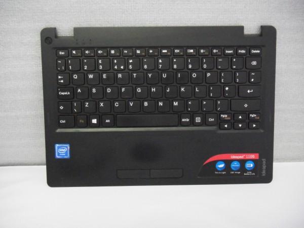 Lenovo QWERTY Keyboard IdeaPad 110s UK black 5N20M53631 V B %19