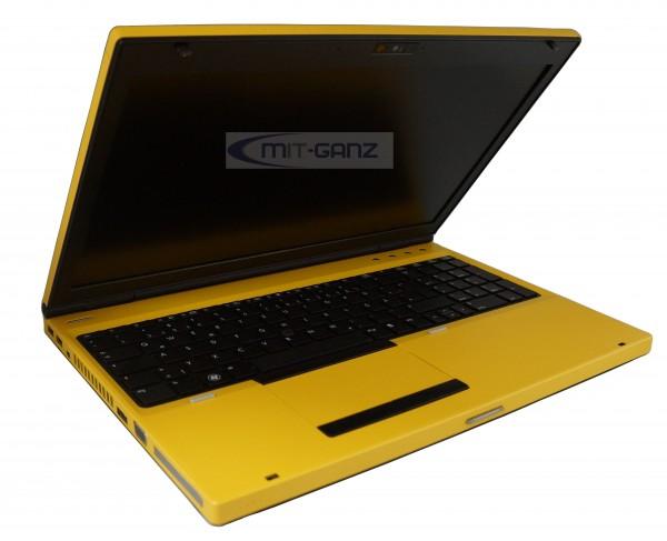 HP EliteBook 8560p i5 2520M/2.5 GHz/4GB/320GB/AMD Radeon HD 6470M/15.6 Zoll/gelb/Top Zustand