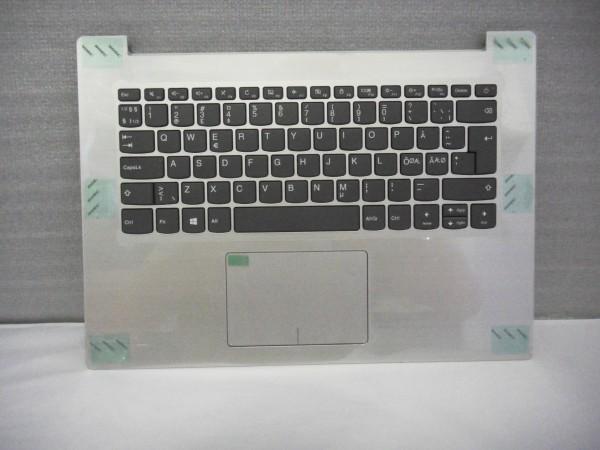 Lenovo QWERTY Keyboard IdeaPad 320s ND DK NO SE FI silver SN20M61887 V A %10