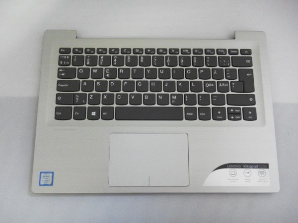Lenovo QWERTZ Keyboard IdeaPad 320s ND DK NO SE FI silver SN20M61959 V B %10