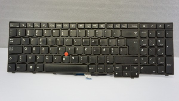 Lenovo AZERTY Keyboard W550s 20E2 BE FRU04Y2354 V A #1.2