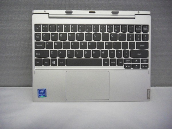 Lenovo QWERTY Keyboard Ideapad MIIX 320 10ICR US silver 5N20P20566 V B %22