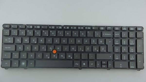HP Elitebook 8460p Keyboard SPS652553 BA1 SVK Layout A-Ware
