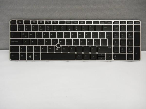 HP QWERTY Keyboard EliteBook 850 G3 G4 755 G3 ES Backlight 6037B0112710 V A #25