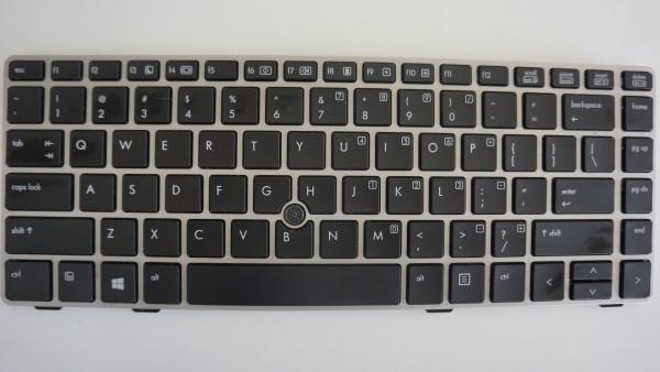 HP Elitebook 8560p/8570p Keyboard SPS702651-001 US Layout B-Ware