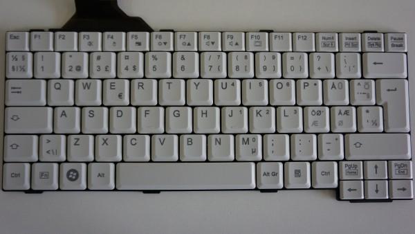 Fujitsu Lifebook E Series Keyboard DNK Layout CP297220 B-Ware