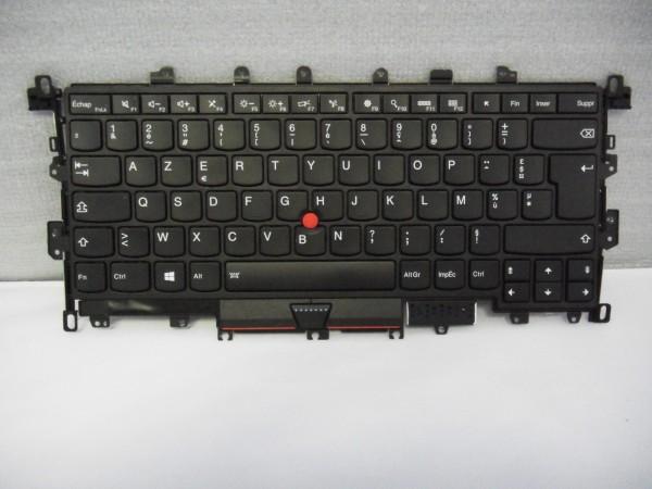 Lenovo ThinkPad AZERTY Keyboard X1 Yoga 1st Gen 20FR FR FRU00JT872 Backlight V B #12